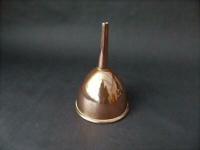 Antique Tin Lined Copper Funnel