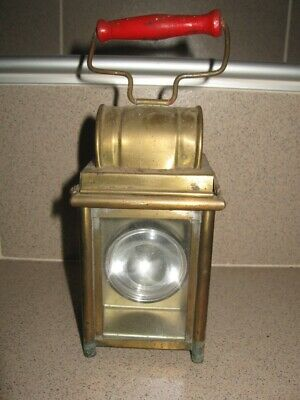 Antique Vintage Yugoslavia Railroad Brass Lantern