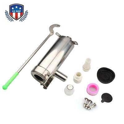 SU202 Stainless Steel Home Manual Water Pump Domestic Well Hand Shake Suction US