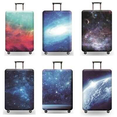 Luggage Elastic Suitcase Dust Cover case protective Anti Scratch star and earth