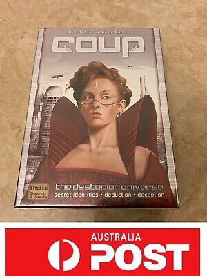 Coup Board Game, A Tense, Accessible, Enjoyable Game, AU Stock