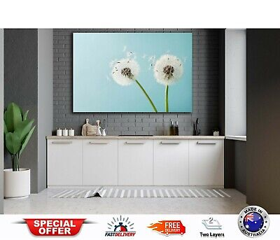 FLOWERS Flying Seeds-Australian made framed Stretched wall Canvas