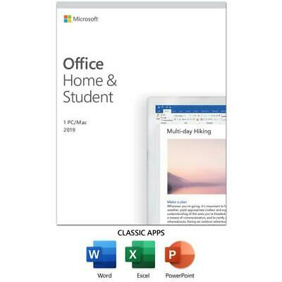 Microsoft Office Home And Student 2019 for 1 User - For Windows or Mac for 1 dev