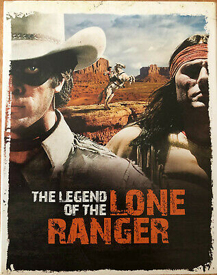 The Legend Of The Lone Ranger    Blu-Ray    Tbe