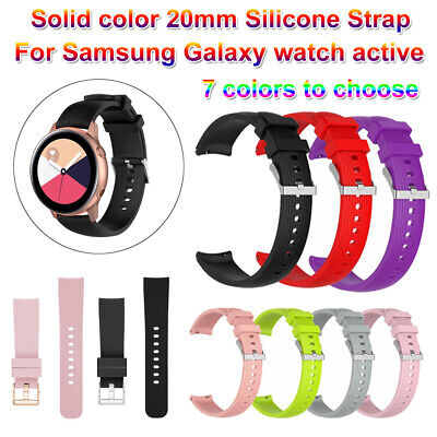 Pulsera Correa Deportes Banda de silicona reloj For Samsung Galaxy Watch Active