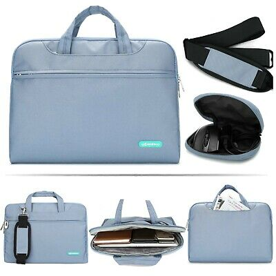 "Laptop Shoulder Bag 13"" Messenger Carry Case Shockproof Universal Compatibility"