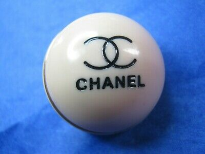 Chanel 1 cc dome button  25mm large lot of 1 good condition