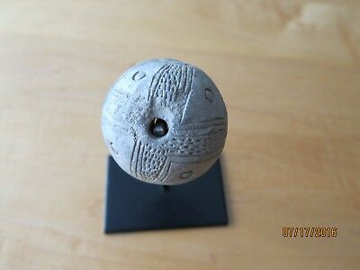 Antique Colombian Spindle to knit cotton - Authentic