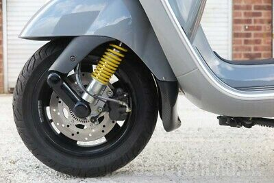 Vespa GTS SLUK Guard HPE - ULTRA & Tail double pack - GLOSS BLACK