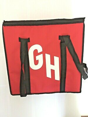 Official New Never Used Grubhub Insulated Pizza Delivery Bag