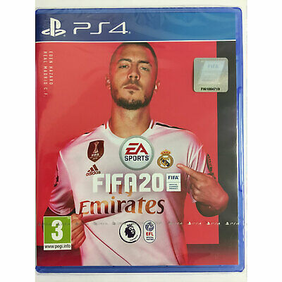 Fifa 20 PS4 + Card Wallet New and Sealed IN STOCK NOW