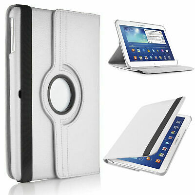 Free Protector + Rotating Stand Folding Case for Samsung Galaxy Tab3 10.1 P5200