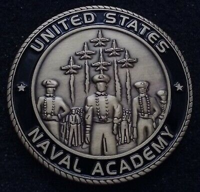BEAUTIFUL United States Naval Academy USNA Midshipman USN Navy US Challenge Coin