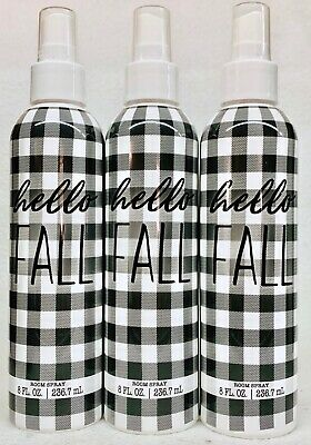 3 Scentsational Hello Fall MAC APPLE Fragrance Room Spray 8 fl oz
