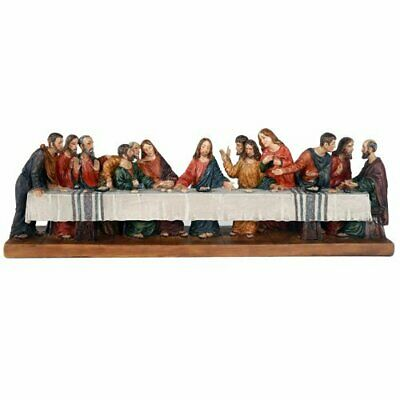Pacific Giftware The Last Supper Da Vinci Inspiration Tabeltop Figurine...