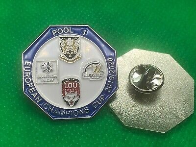 European Champions Rugby Pool 1 Pin Badge