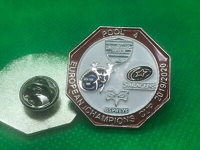 European Champions Rugby Pool 4 Pin Badge