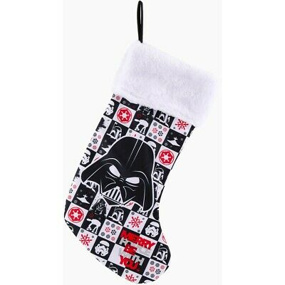 Star Wars Christmas Plush Stocking - Black