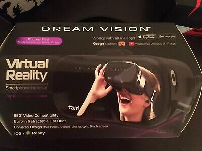 TZUMI DREAM VISION Pro Virtual Reality Headset with