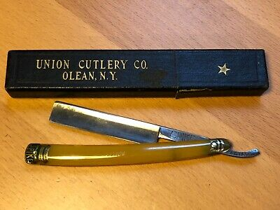 Vintage Spike Special Straight Razor, Union Cutlery Co. Clean NY with Box
