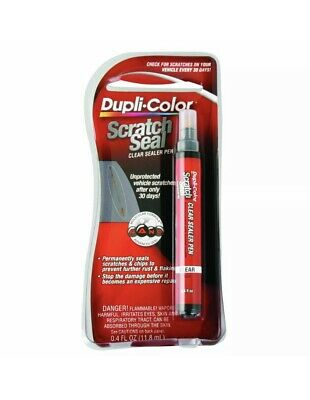 6 X Dupli-Color Scratch Seal Pen - Clear, 11.8mL