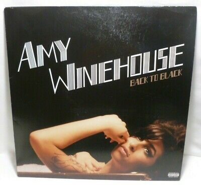 Amy Winehouse Back To Black Exclusive Silver Vinyl (Read Listing Before You Buy)