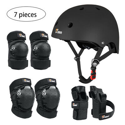 7PCS Child & Adults Rider Series Protection Gear Set Knee and Elbow Pads ,Helmet