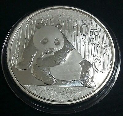 2015 1 oz Silver Chinese Panda Unique Transition coin