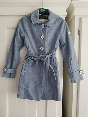 Authentic Michael Kors Girls Mac Coat Jacket Uk 6