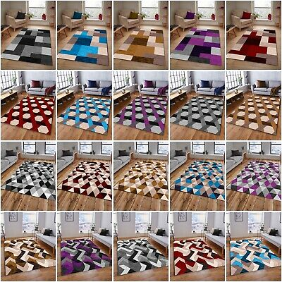 Red Blue Silver Modern Soft Thick Rugs Small Extra Large Mats Cheap Carpets Rug