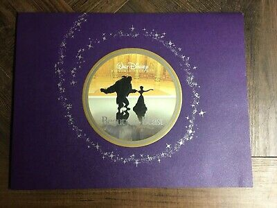 Beauty and the Beast lithographs set of 4 2002 Exclusive Disney Store