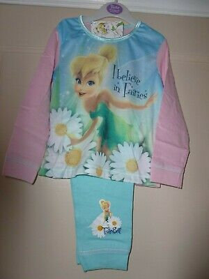 Girls Disney Tinker Bell Pyjamas I Believe in Fairies 18-24 months nwt