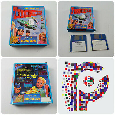 Thunderbirds A Grandslam Game for the Commodore Amiga tested & working