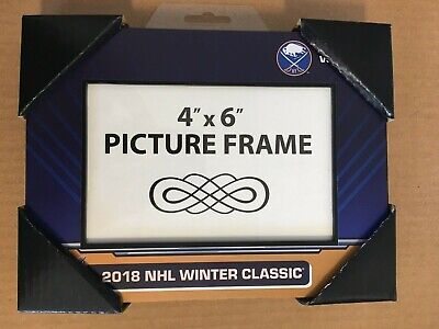 "2018 Buffalo Sabres / New York Rangers Winter Classic 4 X 6"" Picture Frame DM1"