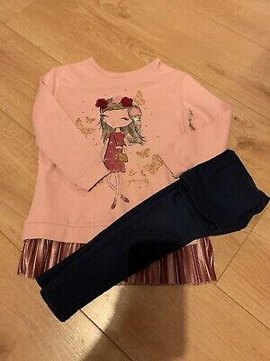 Girls 2 Piece Outfit Age 6-7 Years Old