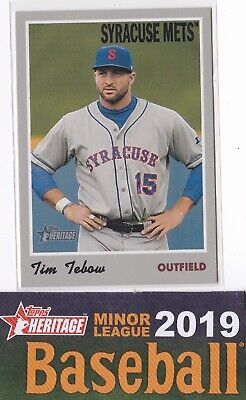 2019 Topps Heritage Minor Leagues YOU PICK Base Cards of MLB Prospects