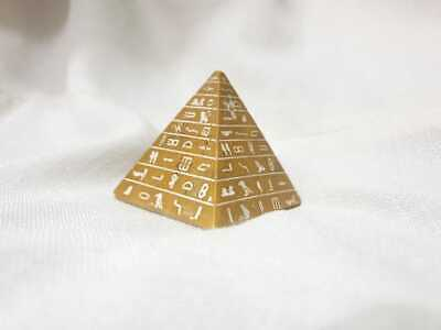 Egyptian pyramid model - 5*6 cm - made of stone
