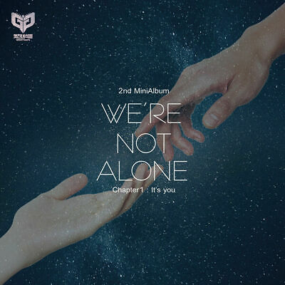 KPOP GREAT GUYS, We're not alone_Chapter1:It's you, 2nd Mini Album, Korea CD