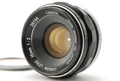 [Exc+++++] Canon 35mm f/2 L39 M39 Leica Screw Mount LTM Lens from JAPAN 894