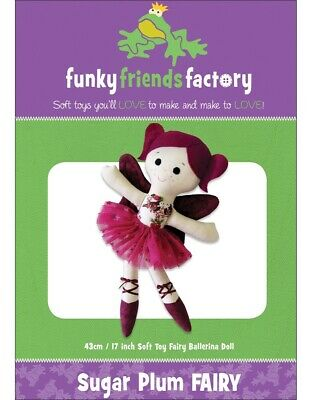 Sugar Plum Fairy Ballerina Doll Toy Pattern