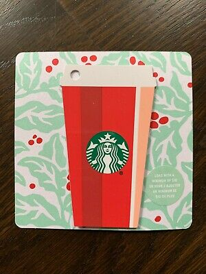 "Canada Series Starbucks ""RED CUP 2018"" Gift Card - New No Value"