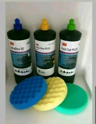 3M Perfect-it III Triple Polishing & Compounding Set & 150mm Pads