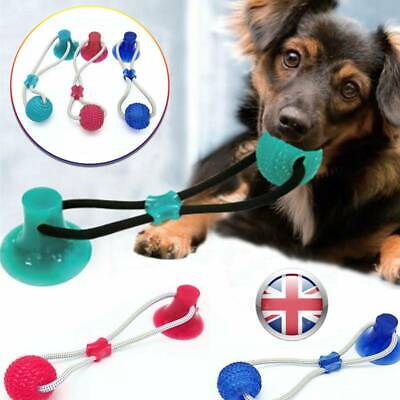 2019 100% ORIGINAL UK Super Strong Floor Suction Tugger Cup Dog Toy with Ball UK