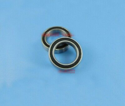 5pcs Stainless steel Rubber Sealed Ball Bearing S6802-2RS 15 x 24 x 5mm[DORL_A]