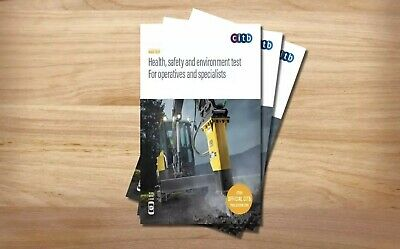 CITB Health, Safety & Environment Test for Operatives & Specialists 2019 DVD