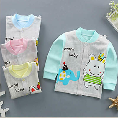 Baby Kids Jacket Combed Cotton Winter Boy Girl Coat Long-sleeved Bottoming Shirt