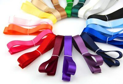 Double Sided Satin Ribbon Rolls Full Reels 25mm Width x 36m length,Craft Gifting