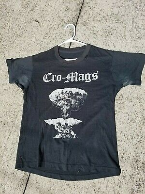 CRO MAGS Army 1984 T-SHIRT Vintage L Punk NYHC Madball JUDGE Gorilla Biscuits
