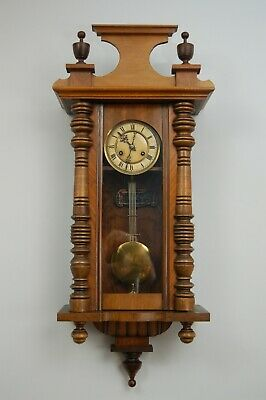 3' Chiming Vienna Wall Clock With Kienzle German Movement in Good Working Order