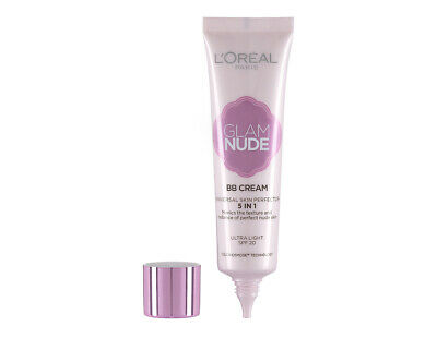 Loreal Glam Nude 5 in 1 BB Cream Universal Skin Perfector Ultra Light